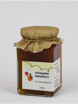 Fruchtaufstrich Sanddorn/Holzapfel ArtNr.: 5007