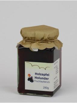 Fruchtaufstrich Holzapfel Holunder ArtNr.: 5010